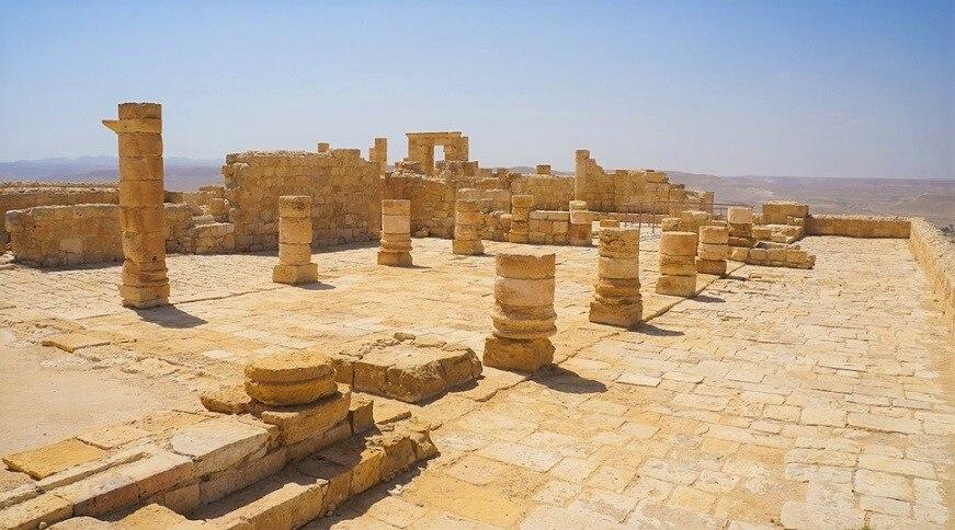 イスラエル南部に広がる世界遺産!ネゲヴ砂漠の香の道と都市群