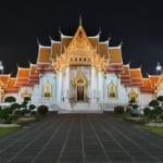 バンコクのワット・ベンシャマボピットまたは大理石の寺院