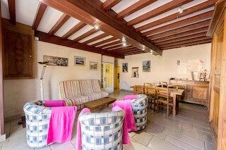 プルモー プリセにある一軒家、ベッドルーム 1 室、塀に囲まれた庭、WiFi あり