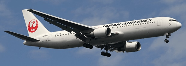日本航空(国際線)