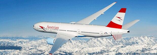 オーストリア航空 国際線